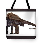 Ampelosaurus Armored Dinosaur Tote Bag