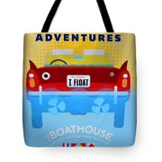 Amphicar Adventure Sign Tote Bag