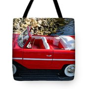 Amphicar Red  Tote Bag