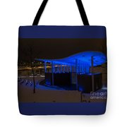 Amphitheater In Blue Tote Bag