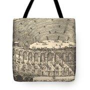 Amphitheater Of Verona Tote Bag
