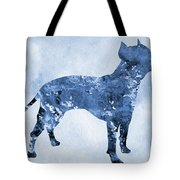 Amstaff-blue Tote Bag