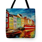 Amsterdam - City Dock Tote Bag