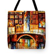 Amsterdam - Little Bridge Tote Bag