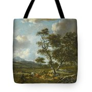 Amsterdam A Landscape With Cattle  Tote Bag