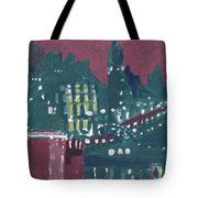 Amsterdam At 4am Tote Bag