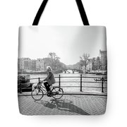 Amsterdam Bike Ride Tote Bag