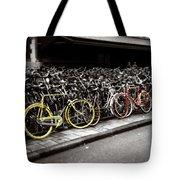 Amsterdam Bikes Tote Bag