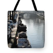 Amsterdam Canal In Winter Tote Bag