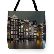 Amsterdam City Lights Tote Bag