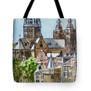 Amsterdam Holland Tote Bag