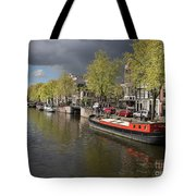 Amsterdam Prinsengracht Canal Tote Bag