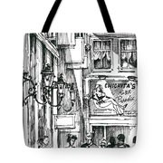 Amsterdam Red District  Tote Bag