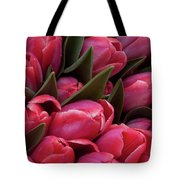 Amsterdam Red Tulips Tote Bag