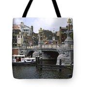 Amsterdam Scene Tote Bag
