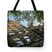 Amsterdam Spring - Fancy Brickwork Glow - Left Horizontal Tote Bag