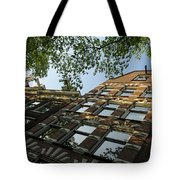 Amsterdam Spring - Fancy Brickwork Glow - Right Horizontal Tote Bag
