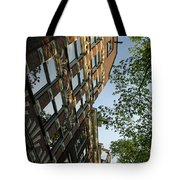 Amsterdam Spring - Fancy Brickwork Glow - Right Vertical Tote Bag