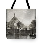Amsterdam, View On The Singel. From The Tote Bag