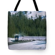 Amtrak 112 1 Tote Bag by Jim Thompson