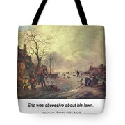 Amusement On The Ice 1645  Tote Bag