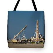 Amusement Pier And Waterpark Tote Bag