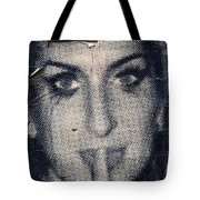 Amy Whinehouse Tote Bag