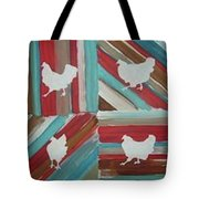 Amy's Chickens Tote Bag