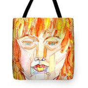 Face Planes Tote Bag