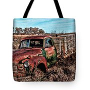An Abandoned Truck Tote Bag