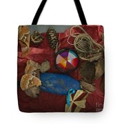 An Abstracted Life Once Lived Tote Bag