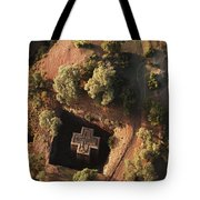 An Aerial View Of Beta Tote Bag