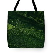 An Aerial View Of The Nazca Lines. They Tote Bag