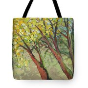 An Afternoon At The Park Tote Bag by Jennifer Lommers