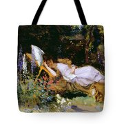 An Afternoon Nap Tote Bag by Harry Mitten Wilson