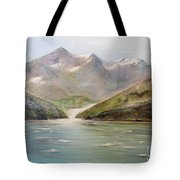 An Alaskan View Tote Bag
