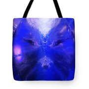 An Alien Visage  Tote Bag