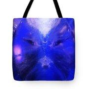 An Alien Visage  Tote Bag