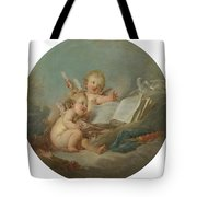 An Allegory Of Poetry Tote Bag
