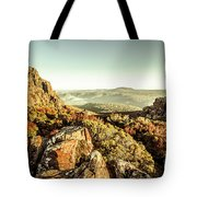 An Alpine Morning Tote Bag
