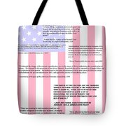 An American Traditition Tote Bag