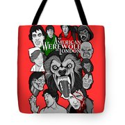 An American Werewolf In London Tote Bag