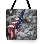 An American Winter Tote Bag