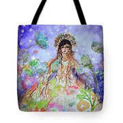 An Angel For All Of The Chakras And Her Name Is Simplicity Tote Bag