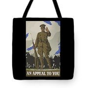 An Appeal To You Tote Bag by War Is Hell Store