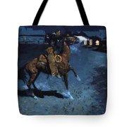 An Arguement With The Town Marshall 1907 Tote Bag