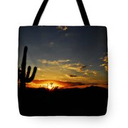 An Arizona Sunrise  Tote Bag