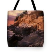 An Art Photograph Of  Bass Harbor Lighthouse,acadia Nat. Park Ma Tote Bag