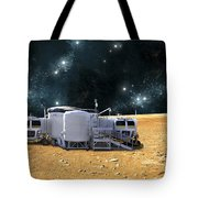 An Artists Depiction Of A Planetary Tote Bag