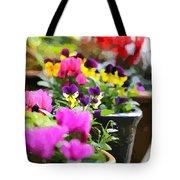 An Artsy Garden Tote Bag